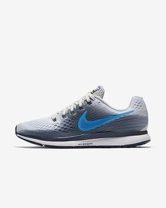 ナイキ エア ズーム ペガサス 34 メンズ ランニングシューズ Mens Nike Air, Nike Men, Nike Air Zoom Pegasus, Photo Blue, Running Shoes For Men, Thunder
