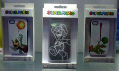 Official Super Mario themed iPhone cases - Mario, Luigi, Yoshi