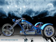 Outlaw Custom Trike by ~random667 on deviantART