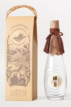 Chanyin Millet Wine packaging by Lingyun Creative