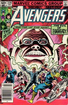 Cover for The Avengers (Marvel, 1963 series) #229 [Direct Edition]