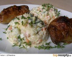 Bramborový salát bez brambor - dělená strava