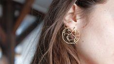 Boucles d'oreilles #81 - Alix B. D'Anthenay