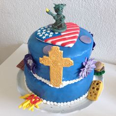 Amerika Schweiz Cake