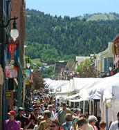 Main Street is transformed for the 42nd annual Park City Kimball Arts Festival, August 2-5, 2012.   http://www.visitparkcity.com/events/annual-special-events/aug-kimball-art-festival/