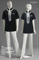Spa 66 - Male Shirt: M90495A Pants: M80313, Tunic: F880476A Pants: F80328 Kind of like this for a uniform
