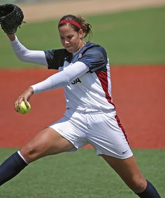 Cat Osterman of the USA Women's National/Olympic Team