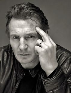 Liam Neeson. The older he gets the better he looks!