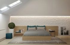 Check Out 21 Tuscan Bedroom Design Ideas That You Will Love. Attic Bedroom Decor, Attic Bedroom Designs, Bedroom Layouts, Master Bedroom Design, Tuscan Bedroom, 2 Bedroom House Plans, Storey Homes, Living Room With Fireplace, Minimalist Bedroom