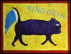 Art by KING ORTH--aka Kevin Orth, El Conde & Old King Orthy. Now in Austin--formerly Chicago & Oaxaca. Orth began making artwork in Chicago in the late 80s and showing in the early 90s. His work has been exhibited at the American Visionary Art Museum, the Terra Museum of American Art, and in many solo and group shows. His paintings, drawings and sculptures are in collections big and small in the US and abroad. Old King, Cromer, Art Brut, Visionary Art, Outsider Art, Art Therapy, American Art, Art Museum, The Outsiders