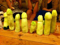 Cucumber penis game