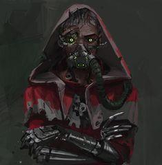 Character Concept, Character Art, Concept Art, Character Design, Warhammer 40k Rpg, Warhammer Models, Warhammer Fantasy, Fantasy Warrior, Sci Fi Fantasy