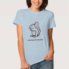 (fun squirrels design T-Shirt) #Design #Fun #Love #Squirrels #Zazzle is available on Funny T-shirts Clothing Store   http://ift.tt/2eicqok
