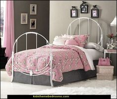 paris style bedrooms french poodle theme