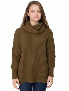 9e45c75f2 Chunky Knit Turtleneck
