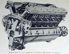 The Fiat was an Italian water-cooled aircraft engine from the It produced 425 kW hp) and powered several absolute world distance records as well as commercial passenger flights. Aircraft Engine, Ww2 Aircraft, Jet Engine, Diesel Engine, Italian Water, Hydrogen Fuel, Gas Turbine, Performance Engines, Combustion Engine