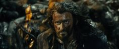 Thorin in the battle of Moria