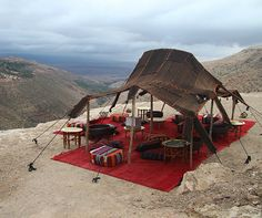 Marrakech, Morocco: Berber tent