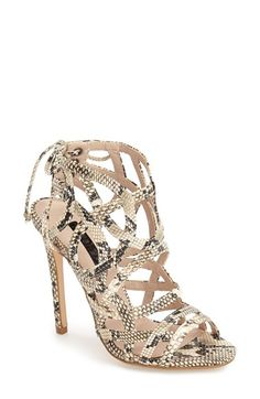 Topshop 'Resort' Sandal (Women) available at #Nordstrom