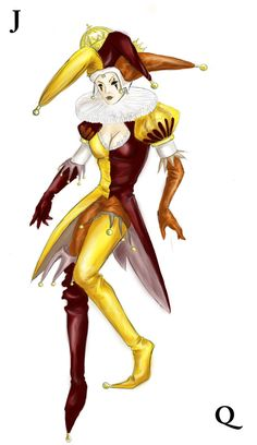 Jester Queen by Taure-Taulea on DeviantArt