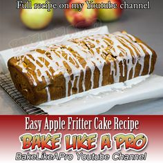 Easy Apple Fritter Cake Recipe Click the image to see my video recipe !