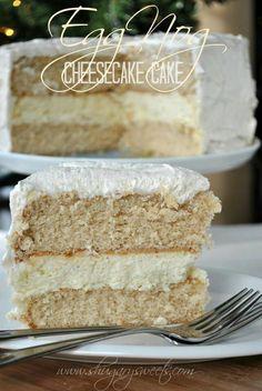 Eggnog cheesecake @Susie Sun Padilla
