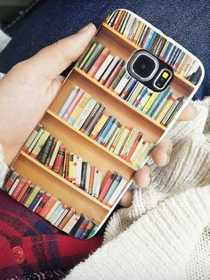 If you are a book lover then this cellphone case may be perfect for you.  Available now for only $15! #readingiscool #books #reading