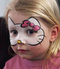Maquillaje Disfraz de Hello Kitty                                                                                                                                                      Más