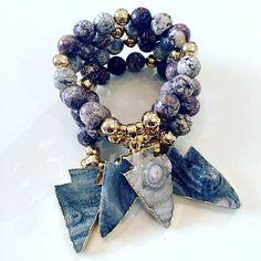 Bracelets By Vila Veloni Exotic Stone