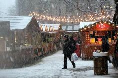 Manchester's Christmas Market, Manchester, England