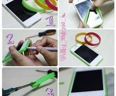 You can not find a case for your phone ? You can make one in a minute for about for free ..just follow the plan ;)