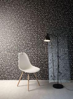 Wallpapers :: Modern :: Mankai :: Mankai Akina Garden Charcoal No 7798 - WallpaperShop