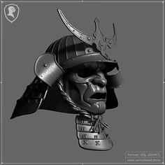 Samurai Helmet, Samurai Warrior, Helmet Drawing, Action Pose Reference, Helmet Tattoo, Samurai Artwork, 3d Mode, Ancient Armor, Warrior Tattoos