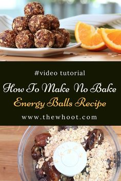 no bake energy balls recipe