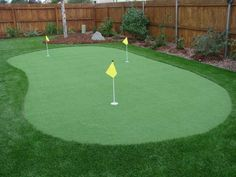 Golf Putting and Chipping Greens - Four Seasons Landscaping