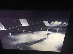 "Robert Rauschenberg ""Frank Stella Mimi Kanarek, Tennis"" Pop Art 35mm Glass Slide    eBay"