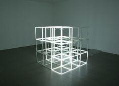 Jeppe Hein, Changing Neon Sculpture