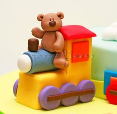 Teddy Train Close-up by Paige Fong, via Flickr