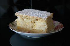 Sunflower - w wolnej chwili...: Kokosowe ciasto z jabłkami na szybko :)