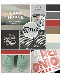 Canesmith & Co. - Color Inspiration Mood Board - All links to image credits… Graphic Design Inspiration, Color Inspiration, Brand Inspiration, Branding Design, Logo Design, Web Design, Colour Board, Business Branding, Design Reference