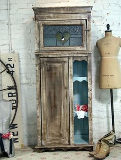 Handmade Farmhouse Cabinet [CC378] - $595.00 : The Painted Cottage, Vintage Painted Furniture