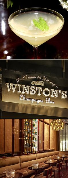 Winston's Champagne Bar | $100 Worth of bubbly and light bites for $50 (NYC) | Photos: Courtesy of Sean Ellingson
