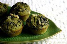 Muffins integrais com queijo e espinafre! do Panelinha! Faço sempre, mas nunca lembro da receita.