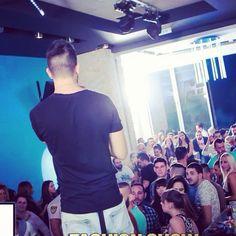 """Really miss those days ... #crete #Mo #club #irakleio #live #music #show #proud #tbt"""