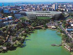 Estádio da Fonte Nova, palco da Copa das Confederações 2013 e Copa do Mundo 2014.