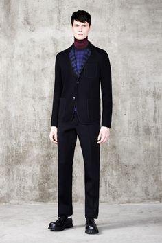 Pringle of Scotland Fall 2014 Menswear Collection Slideshow on Style.com