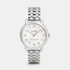 Coach Delancey 36mm Stainless Steel Bracelet Watch