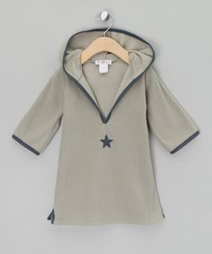 Grey Star Top - Infant by Numaé