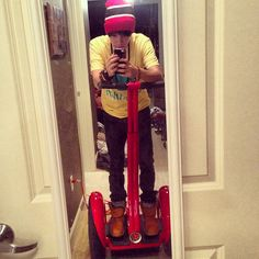 It's red! - @Alex Jones Constancio- #webstagram