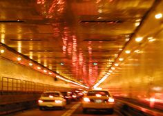 Lincoln Tunnel i love this tunnel